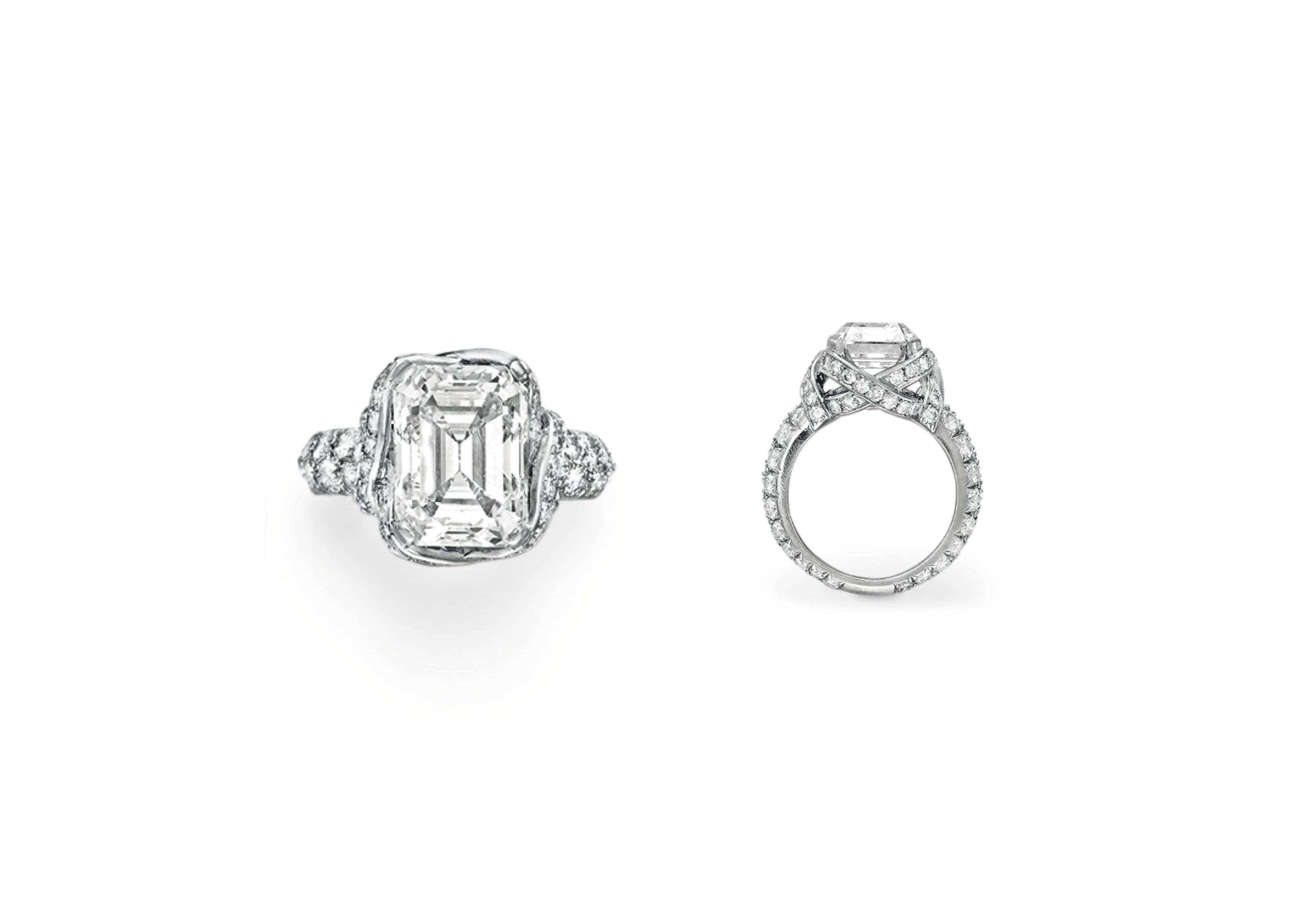 A DIAMOND RING, BY JEAN SCHLUMBERGER FOR TIFFANY & CO.