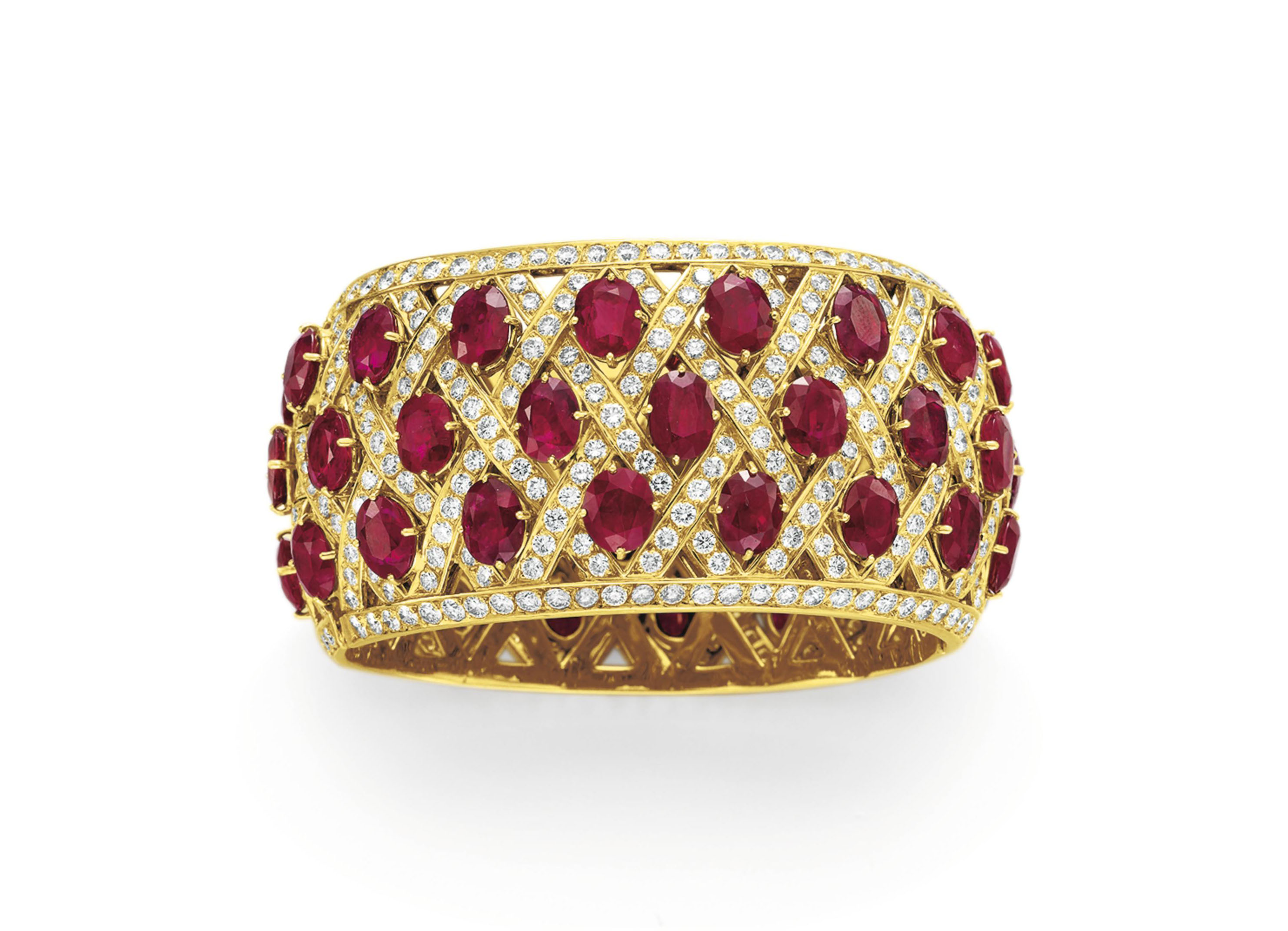 gold diamond jewellers ruby martin and stone gear three ring product