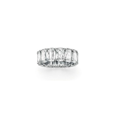 A DIAMOND ETERNITY BAND, BY WI
