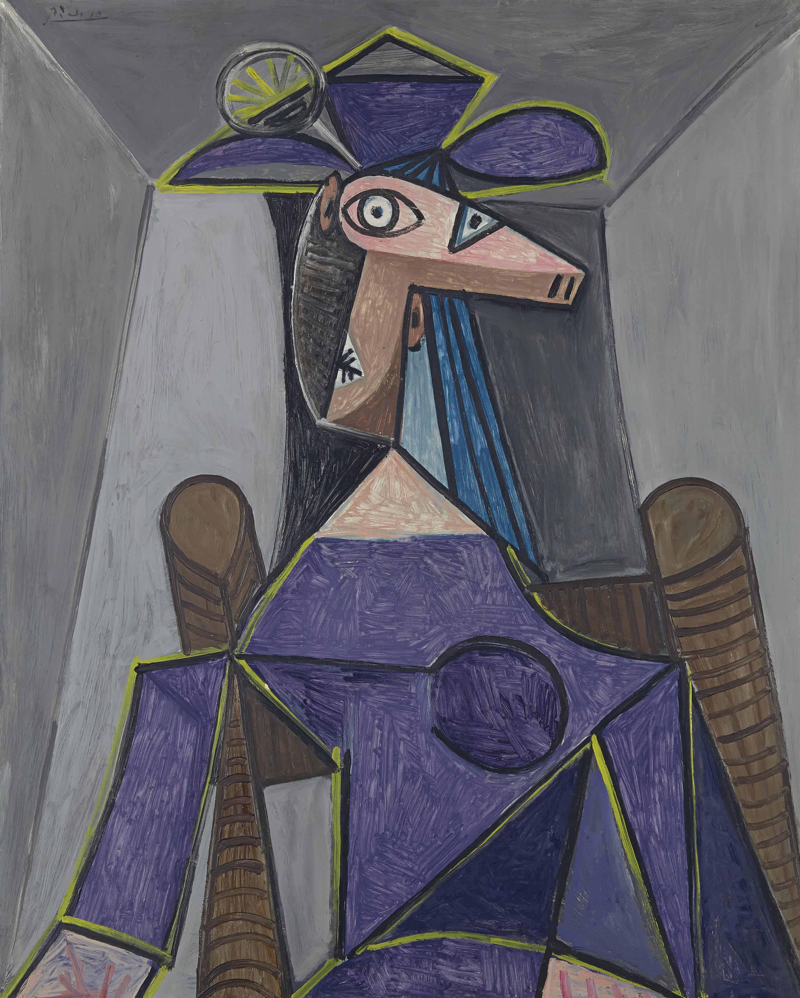 Pablo Picasso (1881-1973) | Portrait de femme (Dora Maar) | 1940s ...