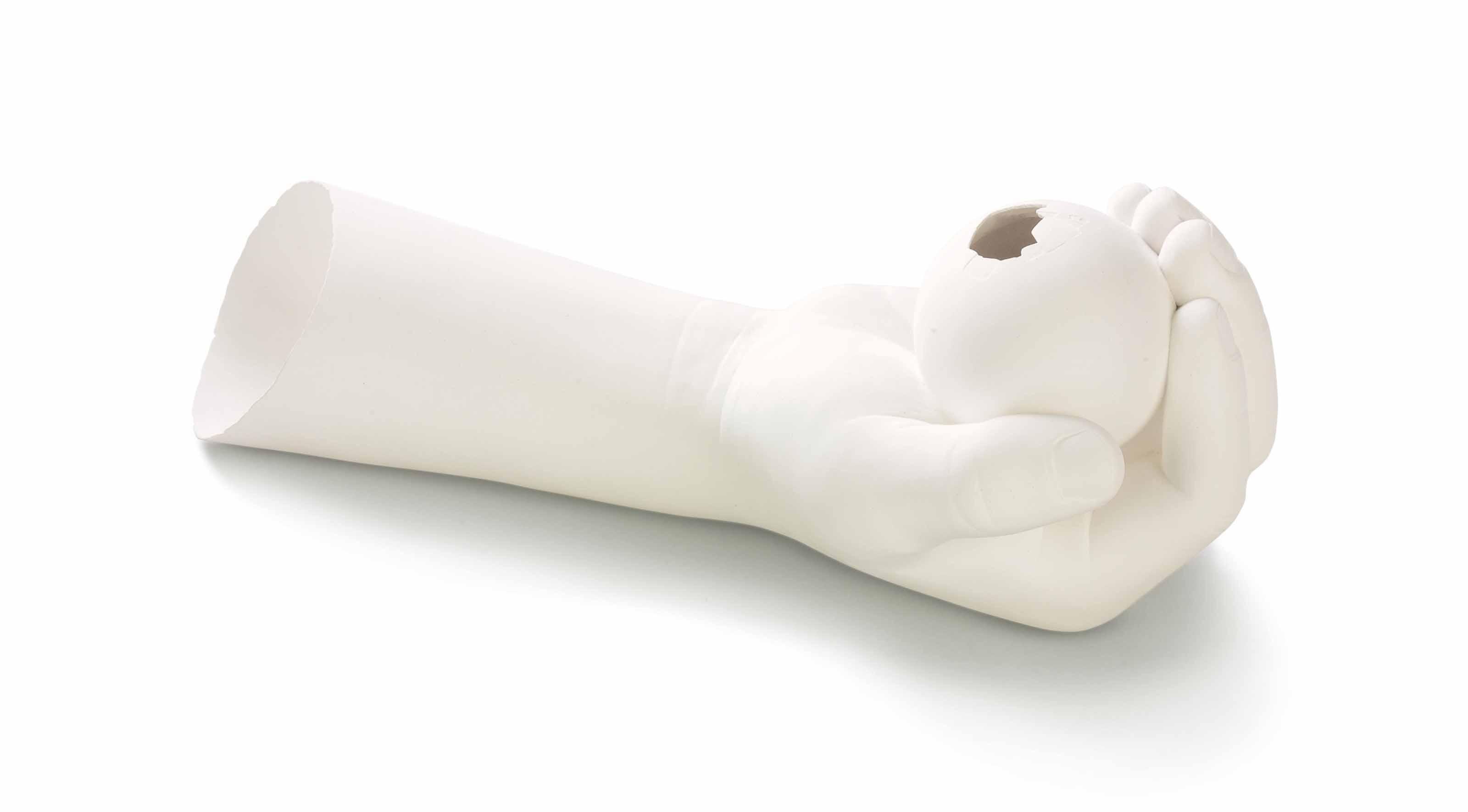 Hand Holding Egg