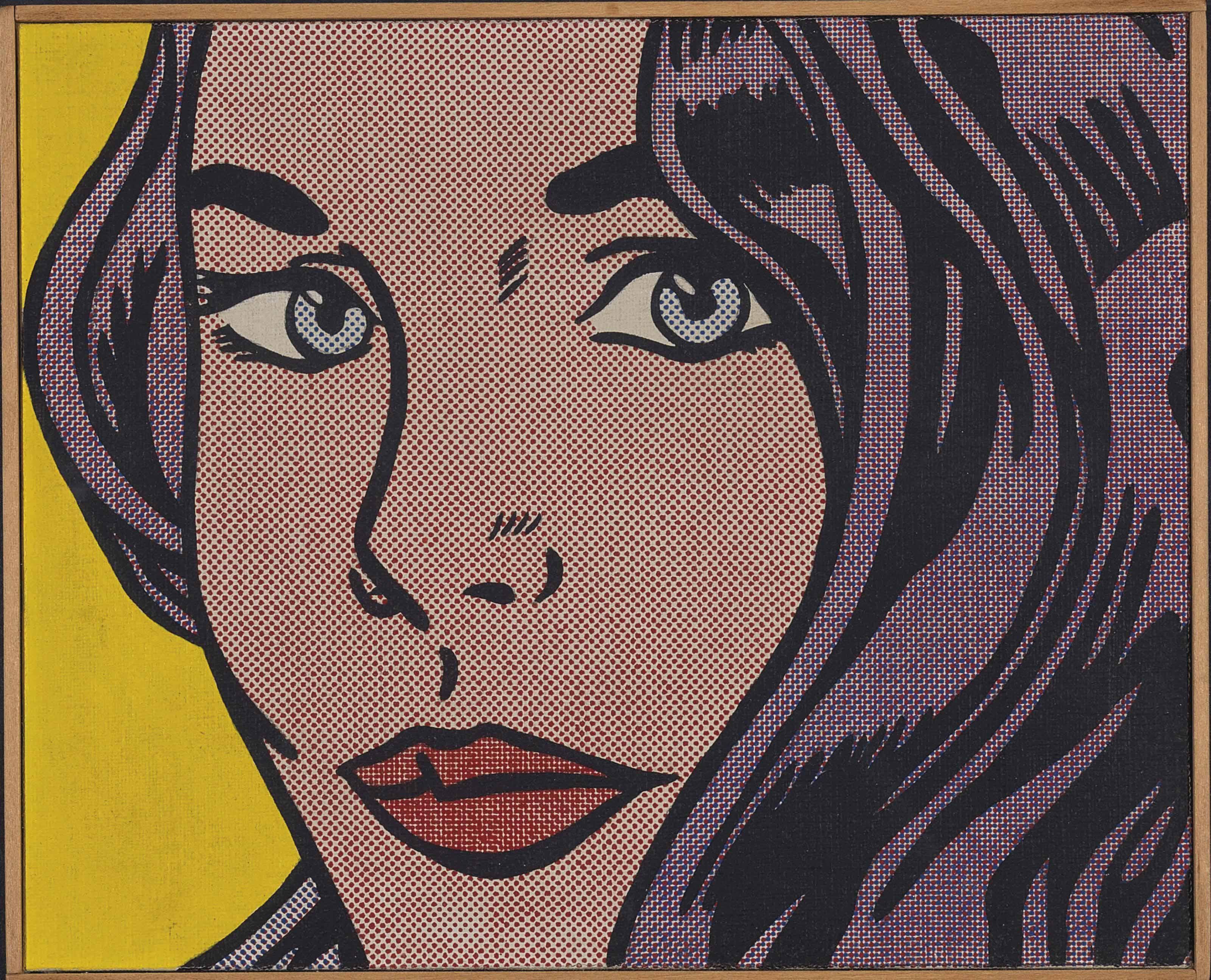 """Roy Lichtenstein """"Seductive Girl"""" 1964"""