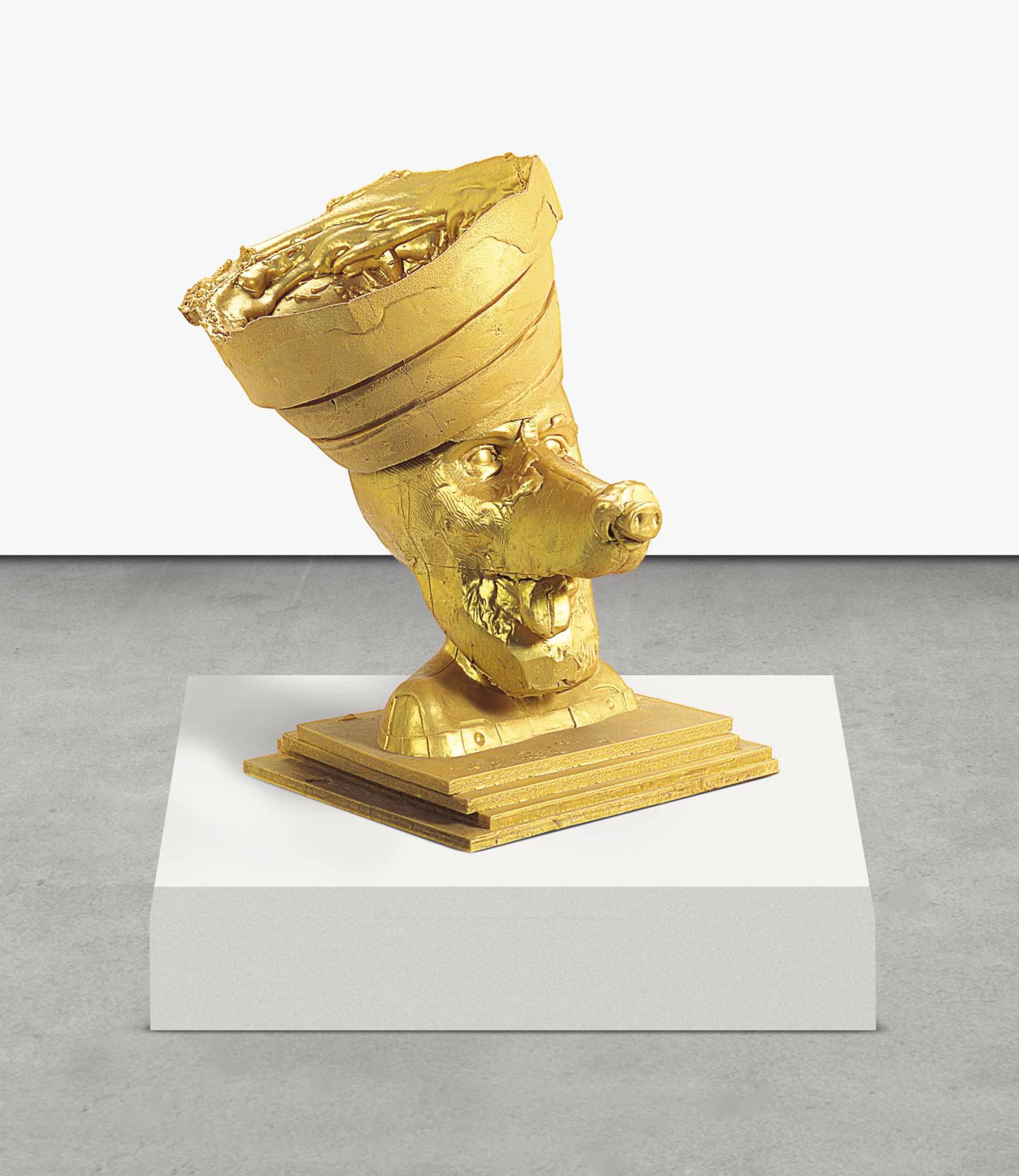 Gold Butter Dog 1, Guggenheim Crown, Silicon