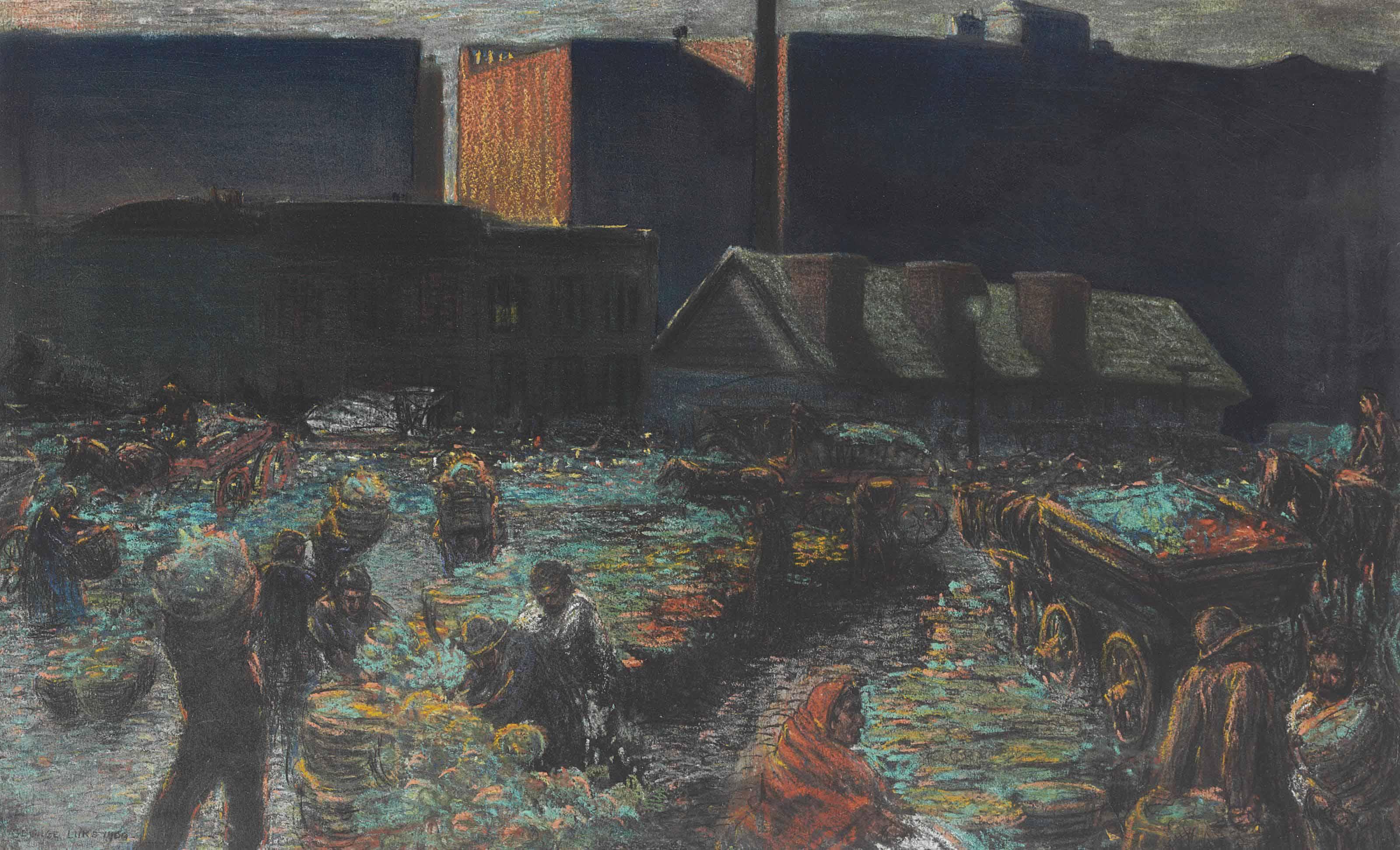 Market at Dawn