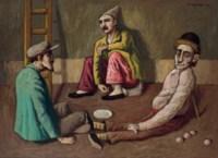 Los saltimbanquis (also known as Un bobo, un muñeco y un payaso)