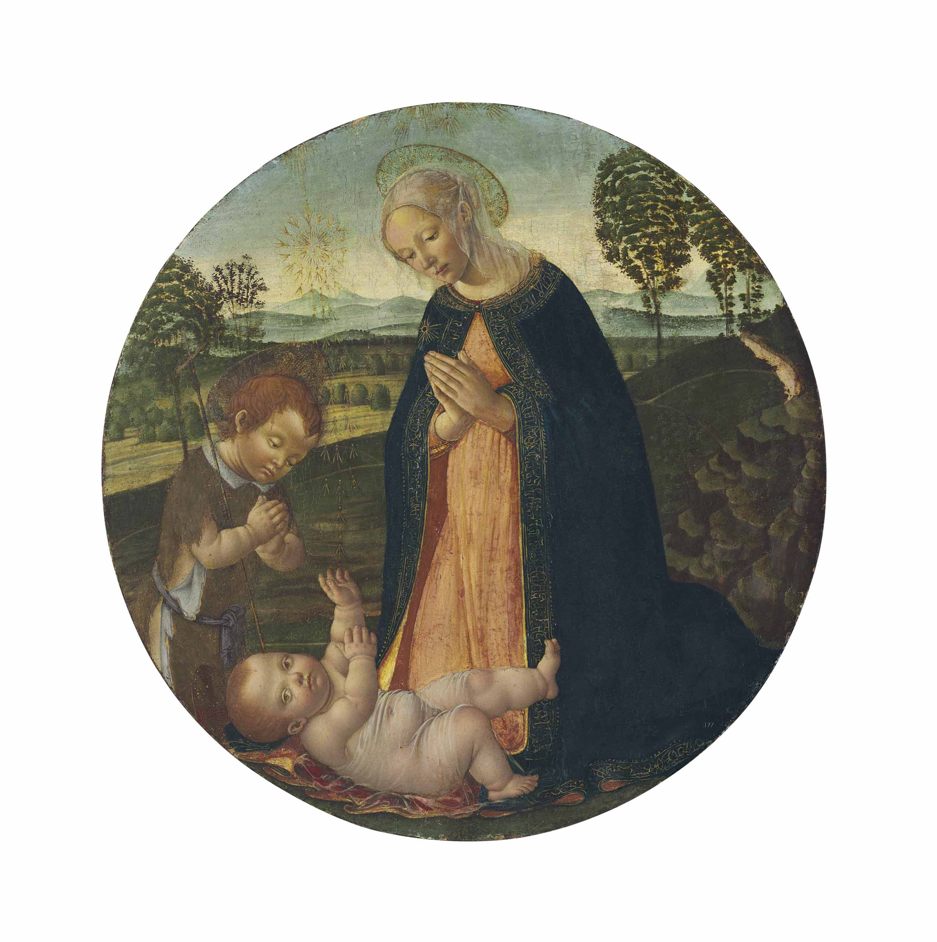 The Madonna and Child with the Infant Saint John the Baptist