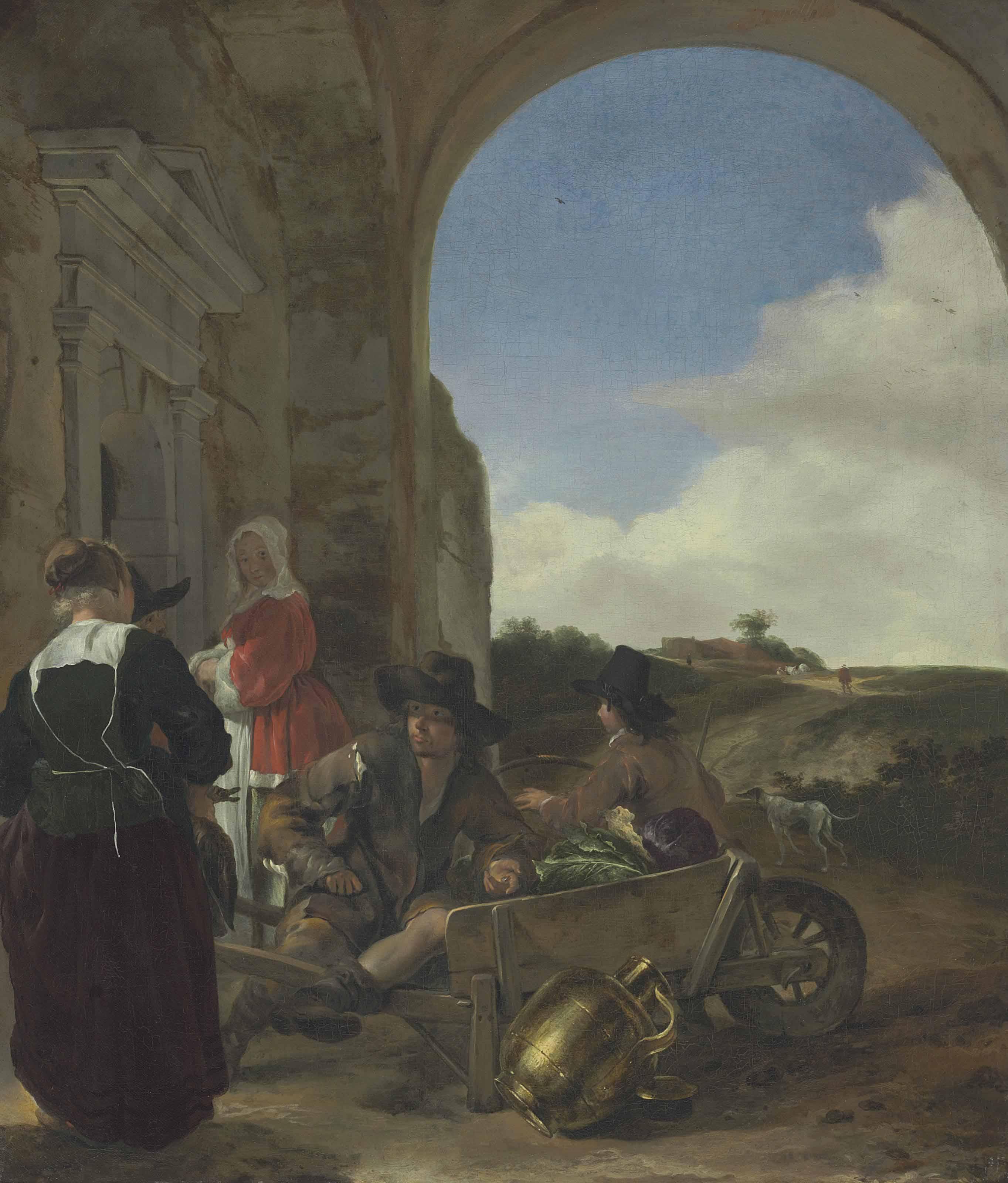 Jan Baptist Weenix (Amsterdam 1621-c. 1660 Huis ter Mey)