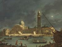 A night festival at San Pietro di Castello, Venice