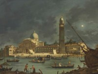 A night festival at San Pietro di Castello, Venice