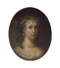 Portrait of a lady, bust-length