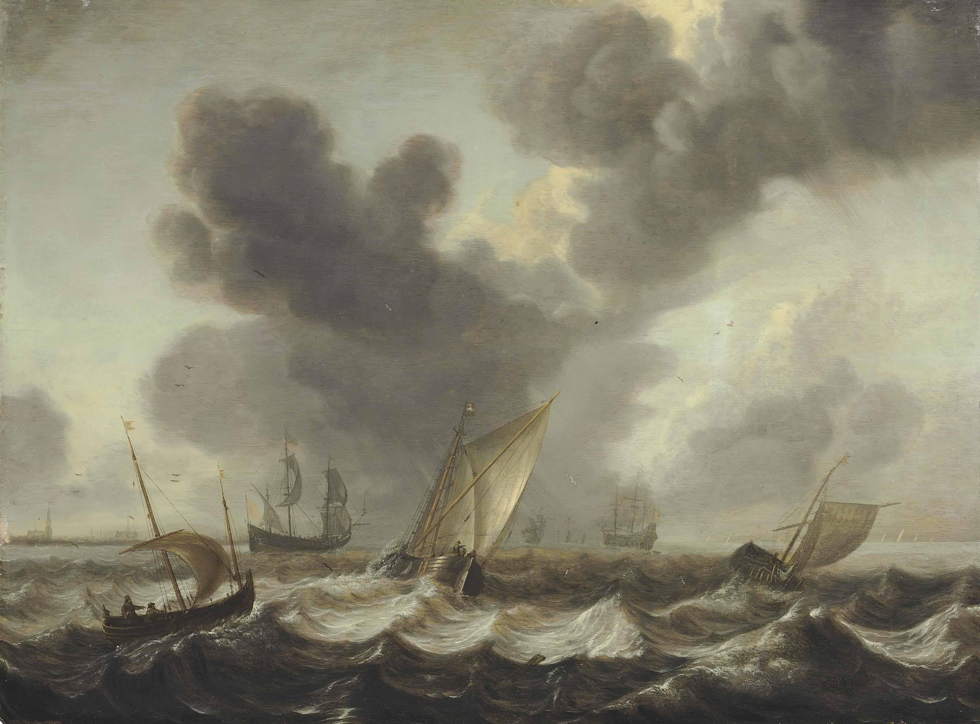 Shipping on rough seas