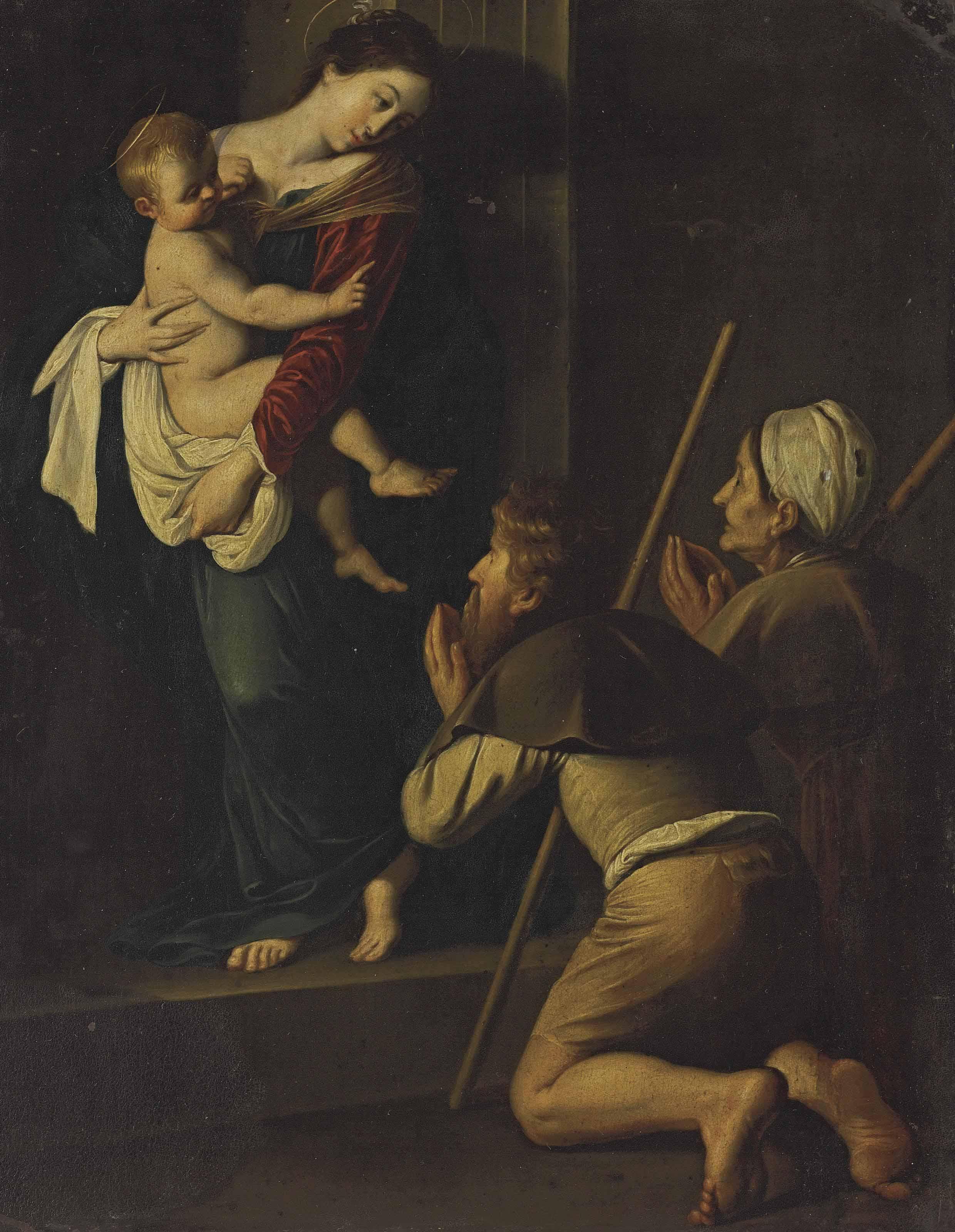 17th-Century Follower of Michelangelo Merisi da Caravaggio