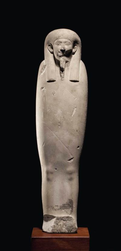 AN EGYPTIAN LIMESTONE PTAH-SOK