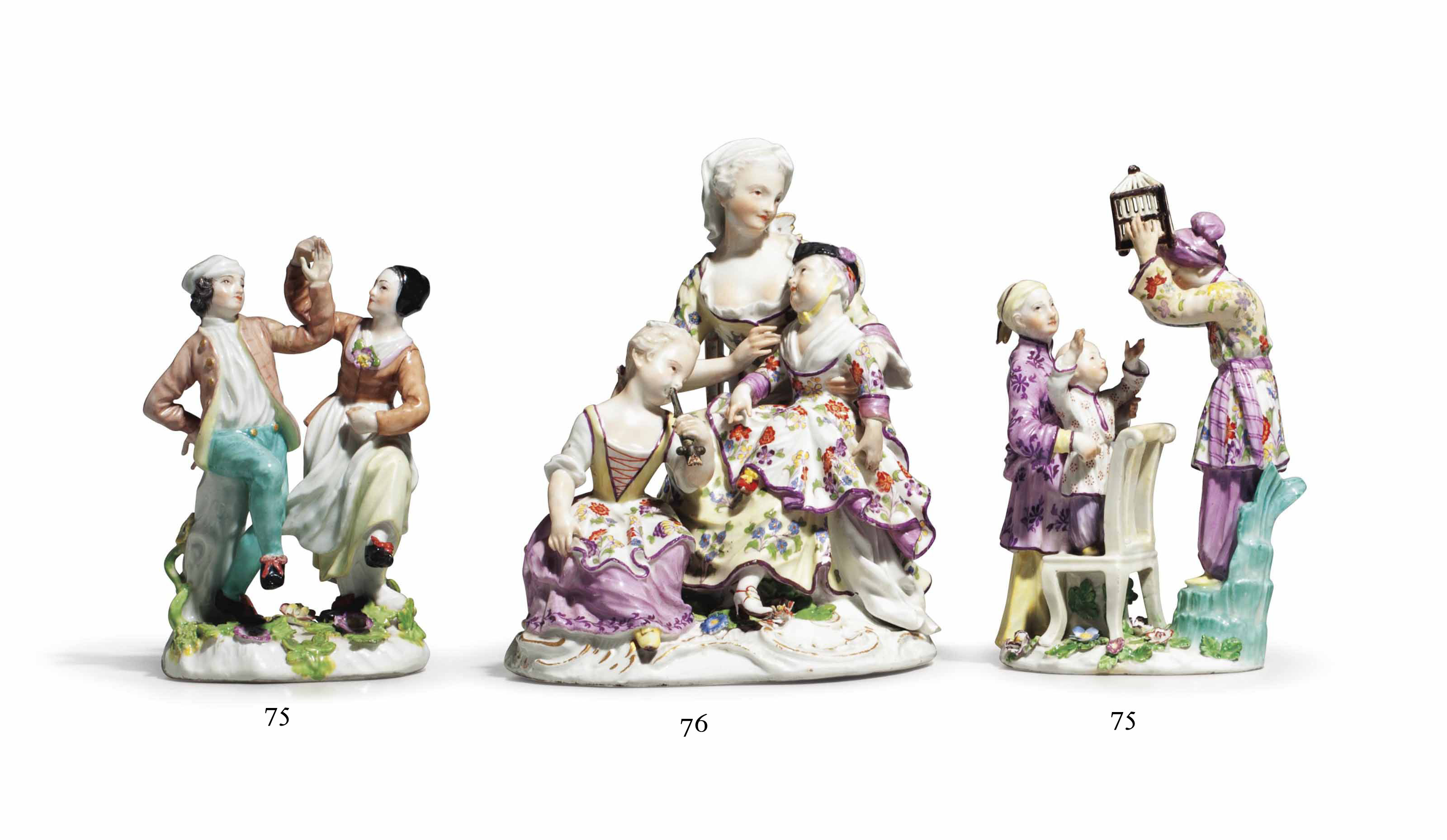 A MEISSEN GROUP OF 'THE BETROT