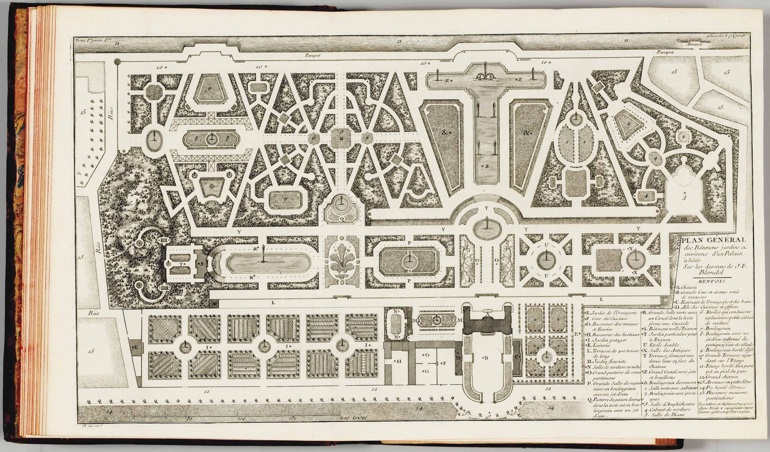 De La Distribution Des Maisons De Plaisance Et De La Décoration Des  Édifices En Général. Paris: Charles Antoine Jombert, 1737 38.