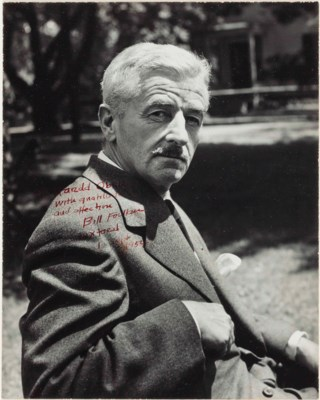 FAULKNER, William. Black-and-w