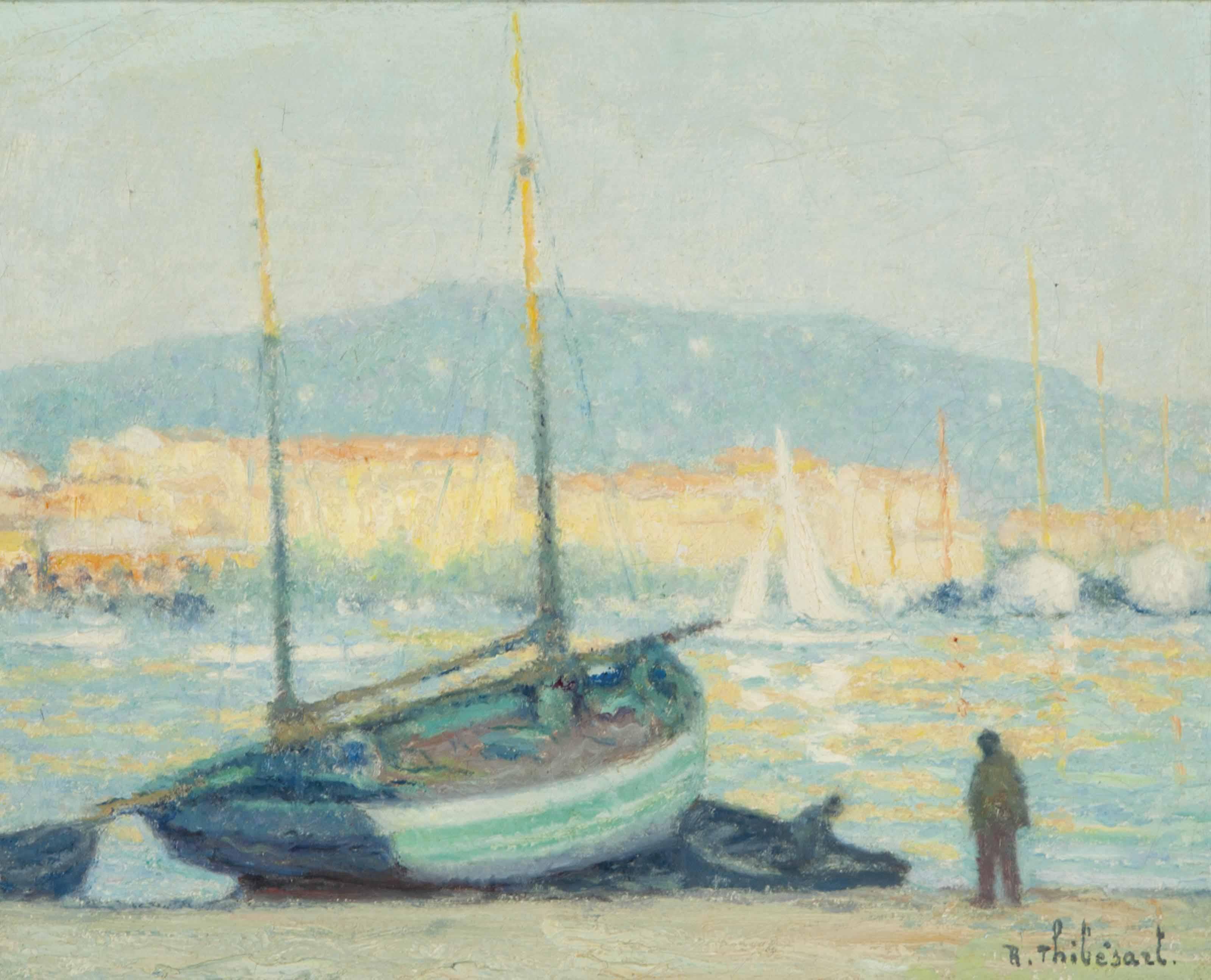 Le port du Cannes