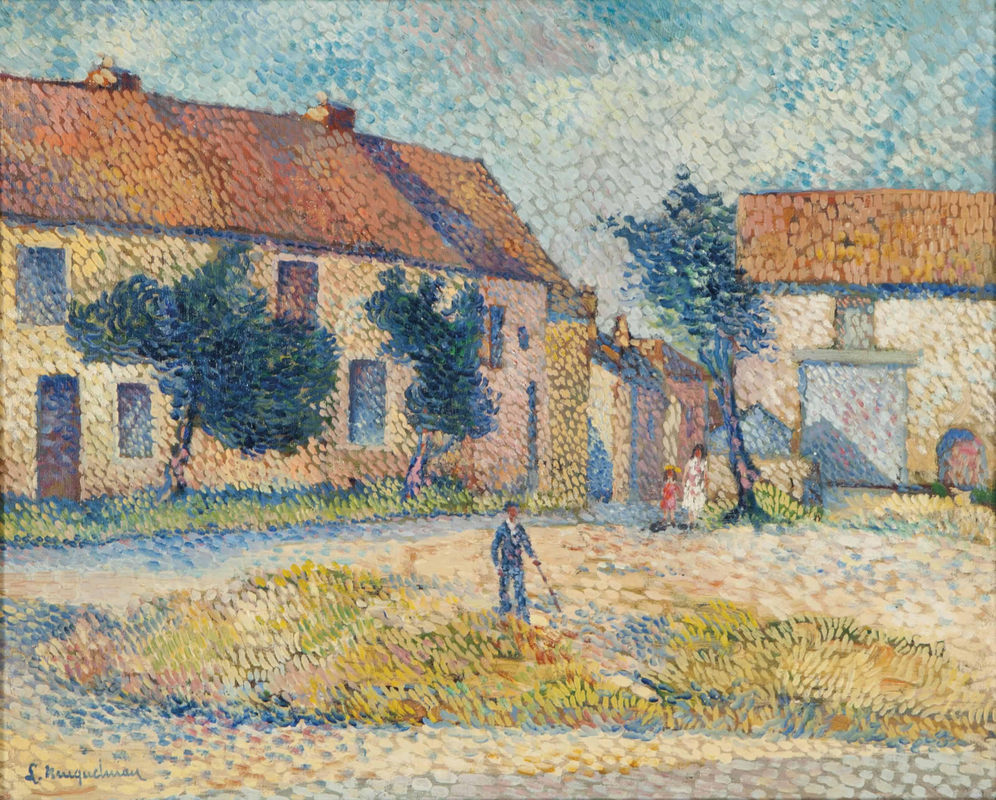 Vieux village en Auvergne