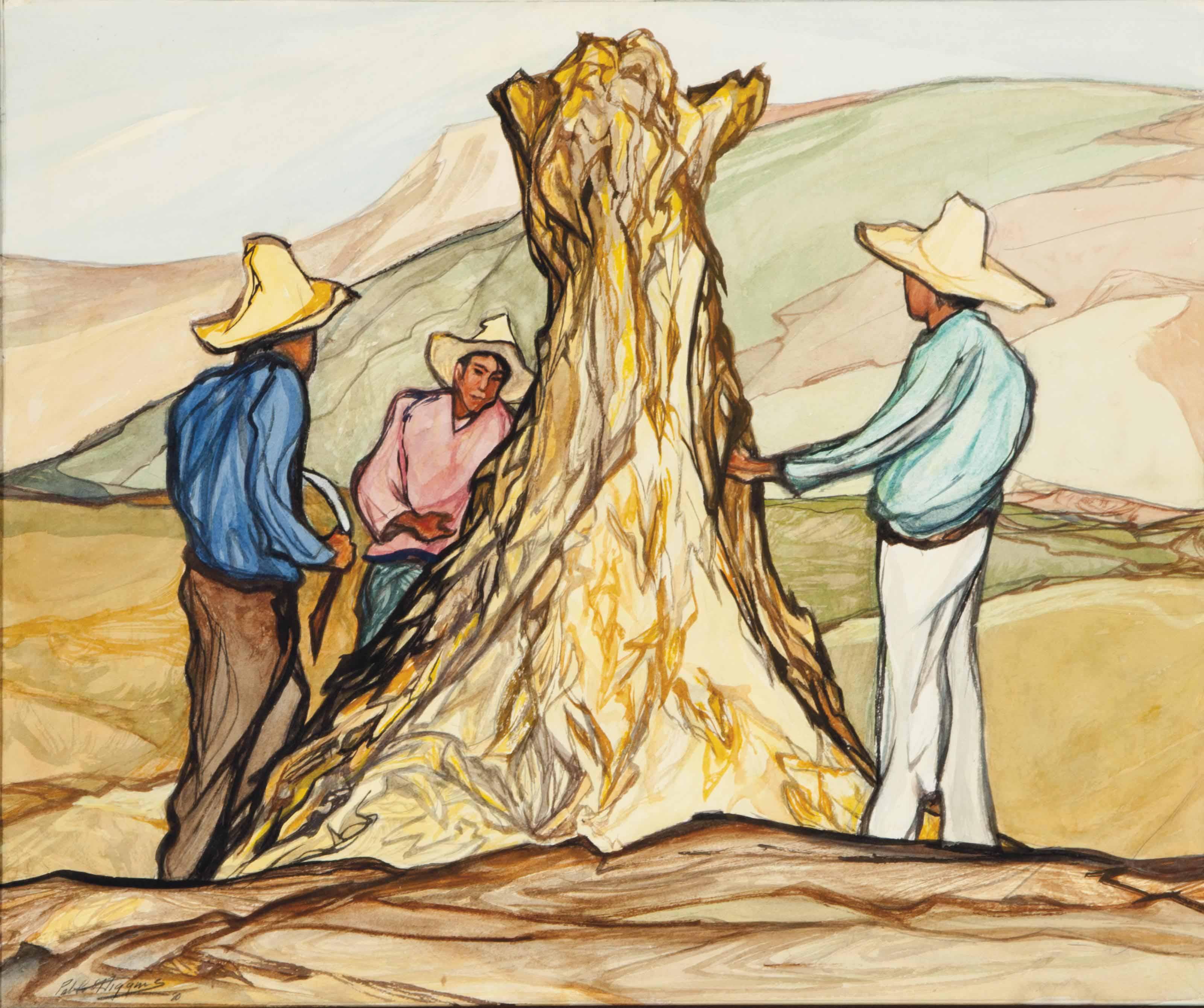 Wheat Harvesters