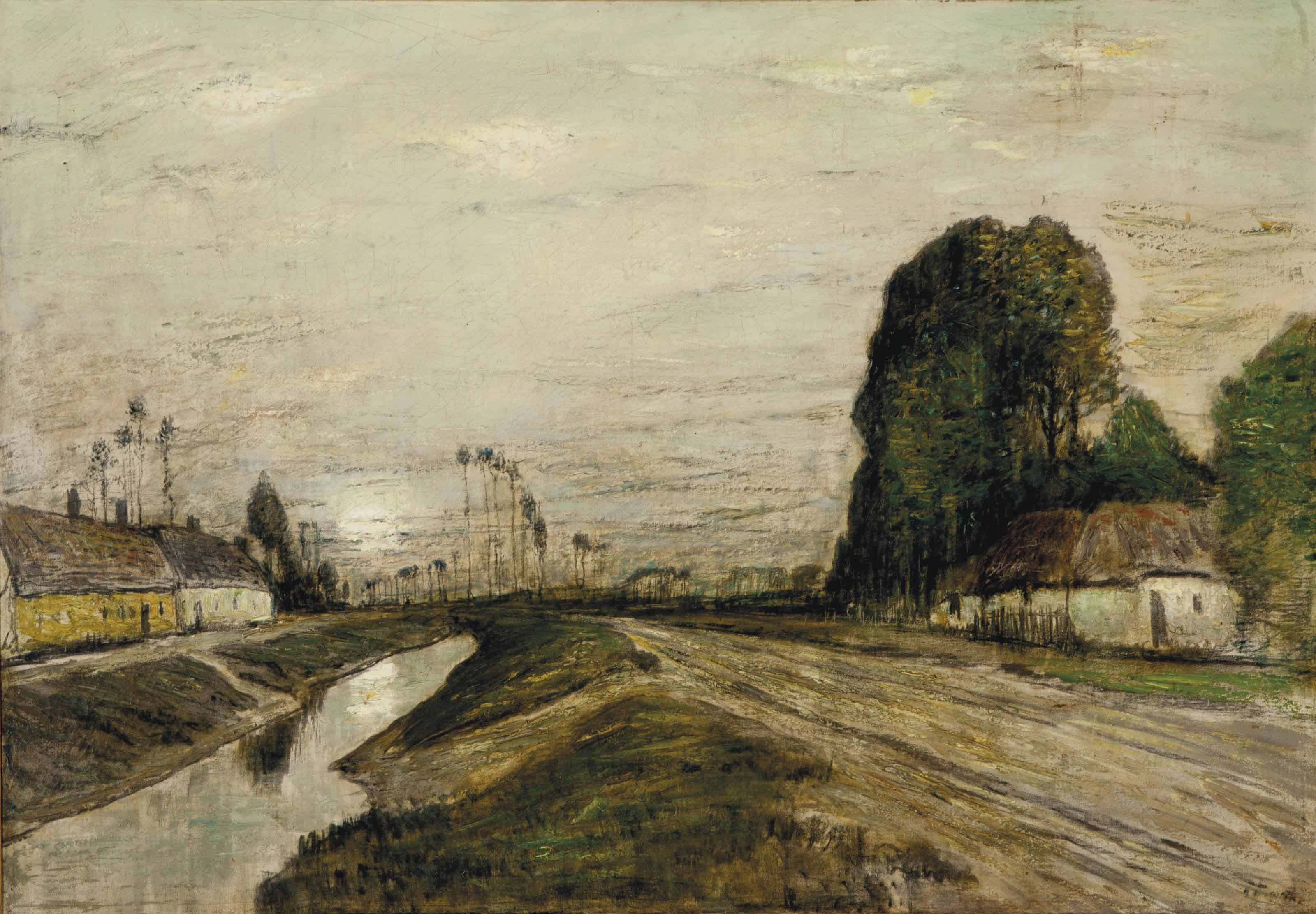 Landscape with canal
