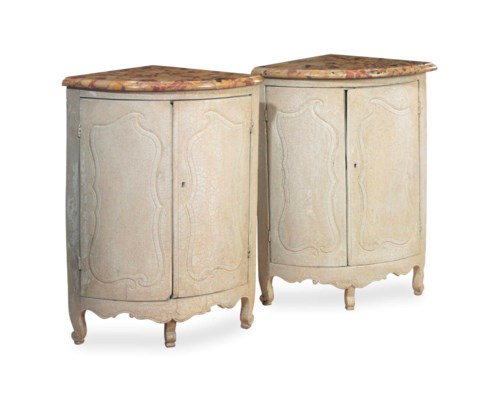 A PAIR OF FRENCH PROVINCIAL CR