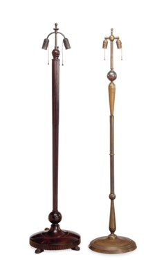 TWO FLOOR LAMPS,