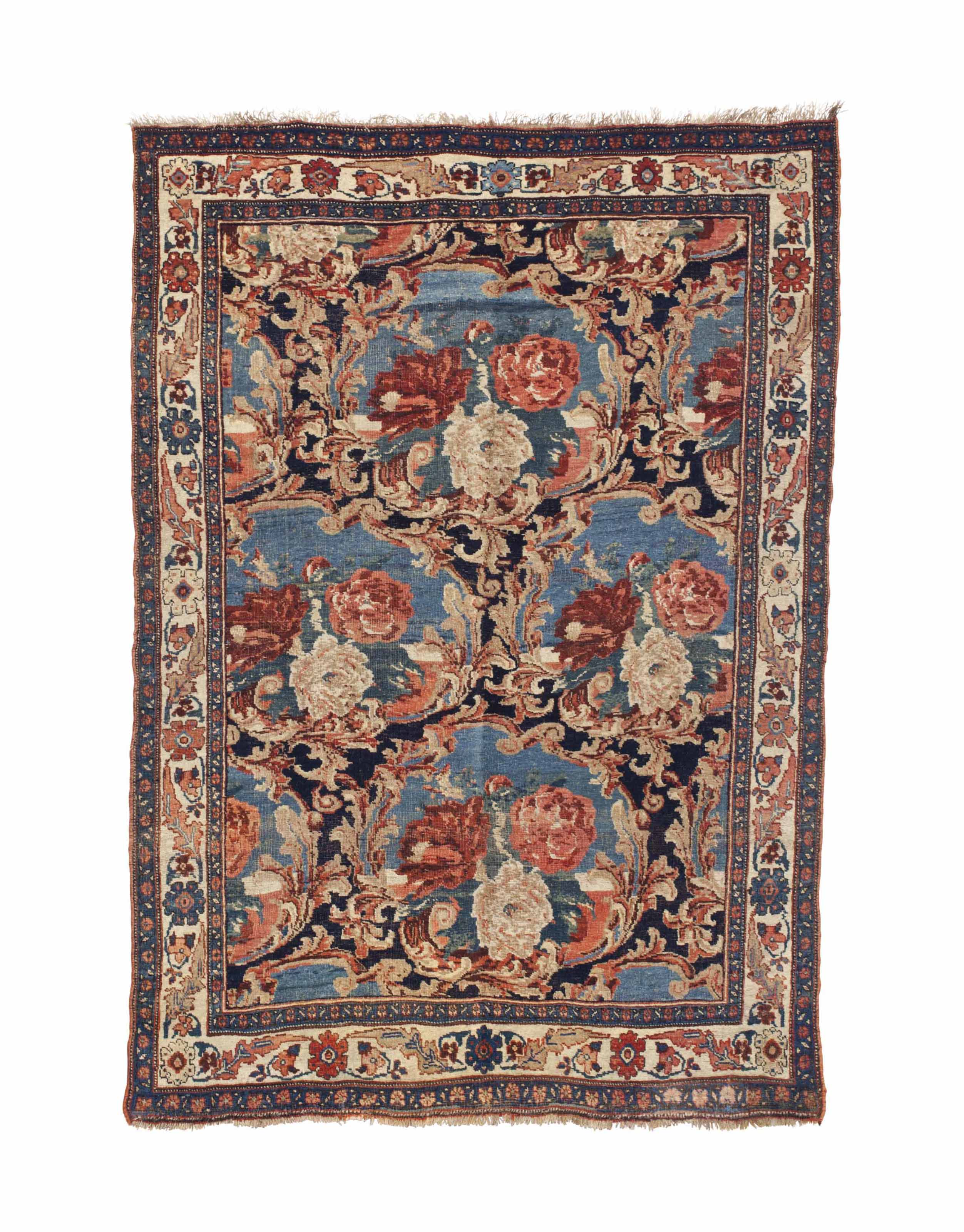 TWO BIDJAR RUGS,