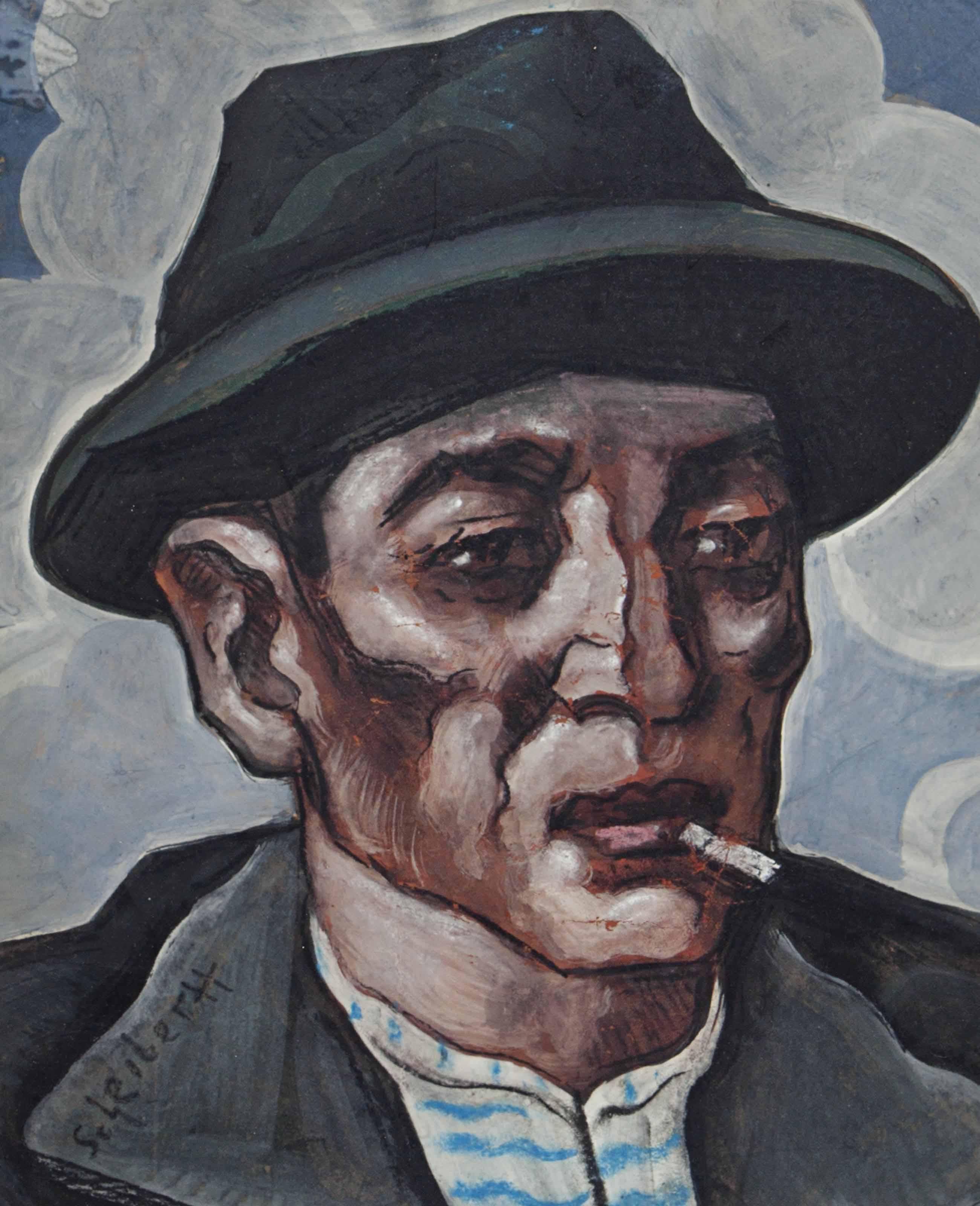 Untitled (man smoking)