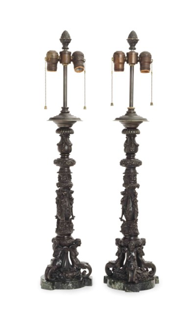 A PAIR OF RENAISSANCE STYLE PA