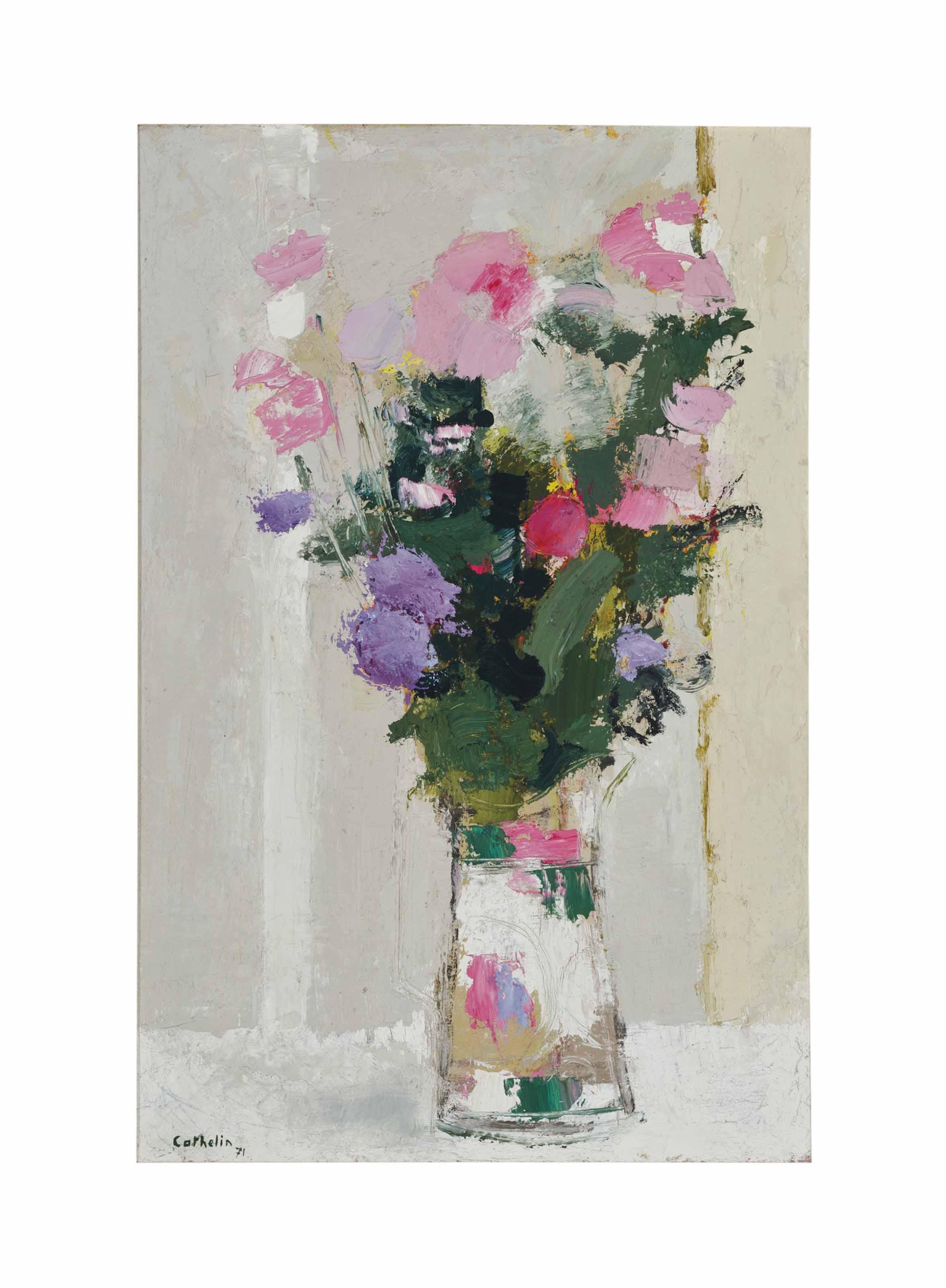 Bouquet au vase de Chine