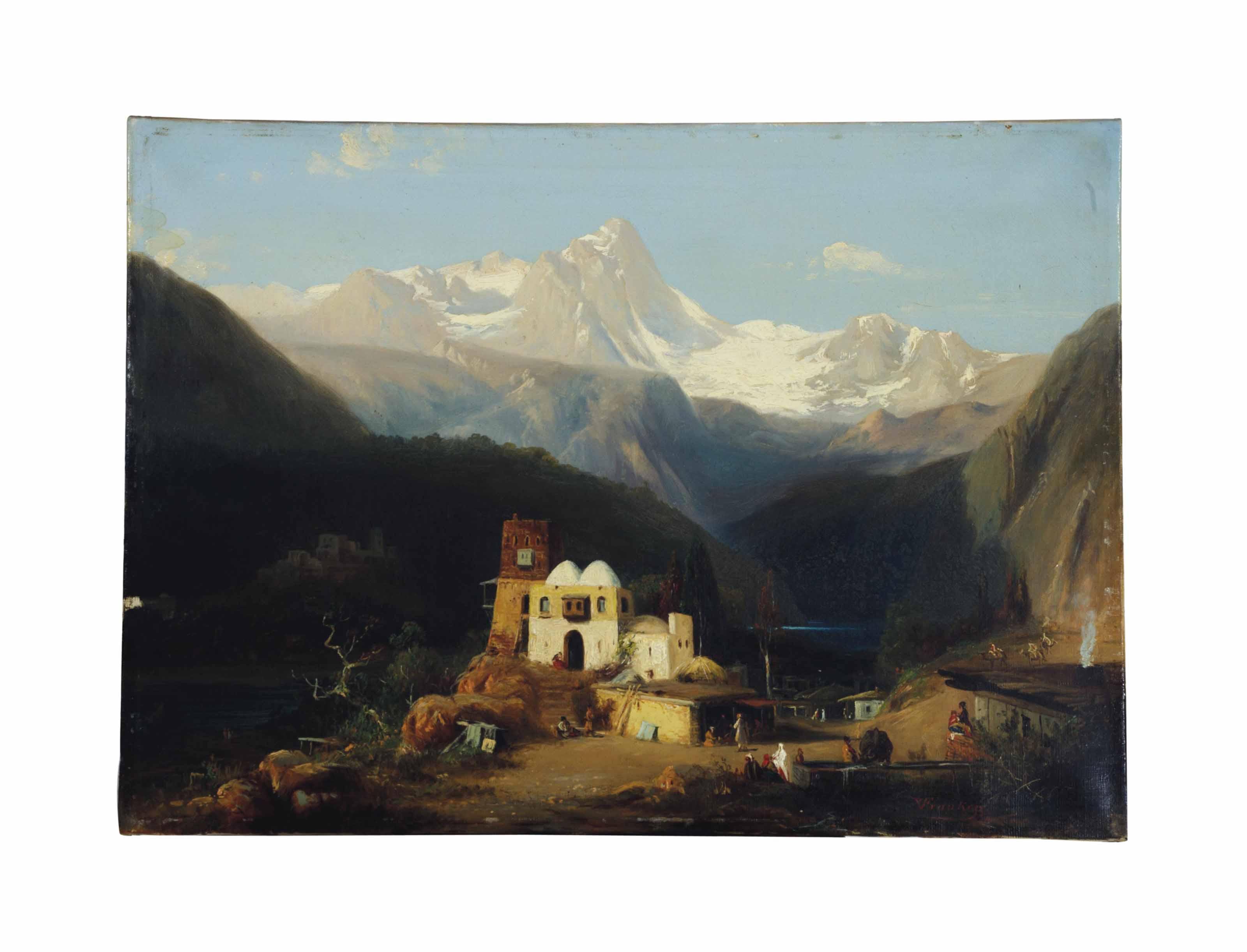 Landschaft im Kaukasus
