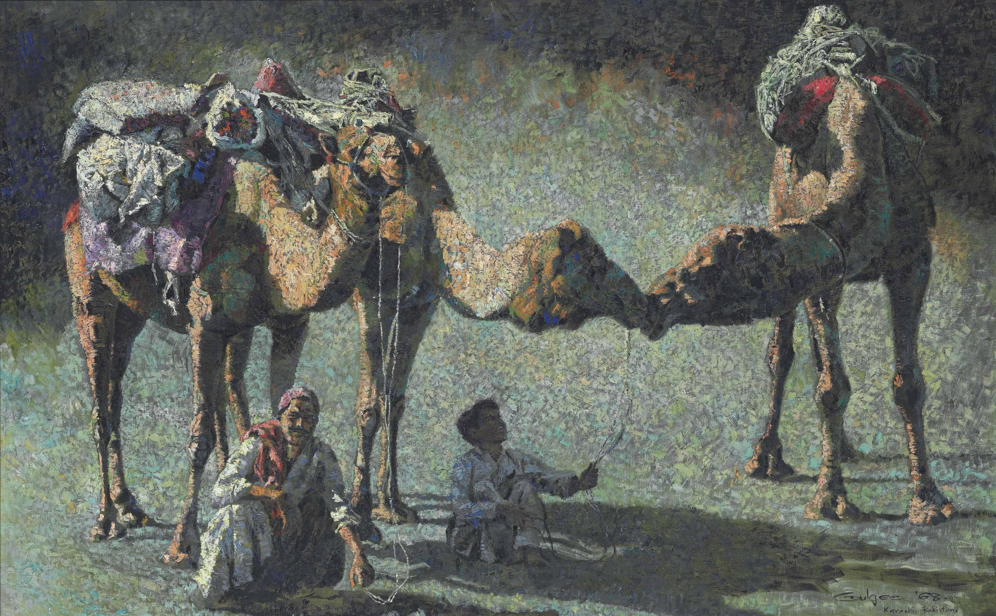 Untitled (Camels)