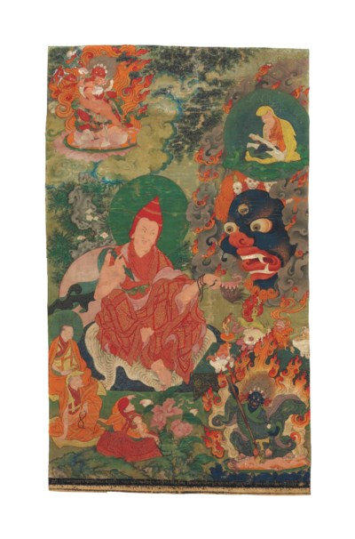 A painting of Dorje Pal