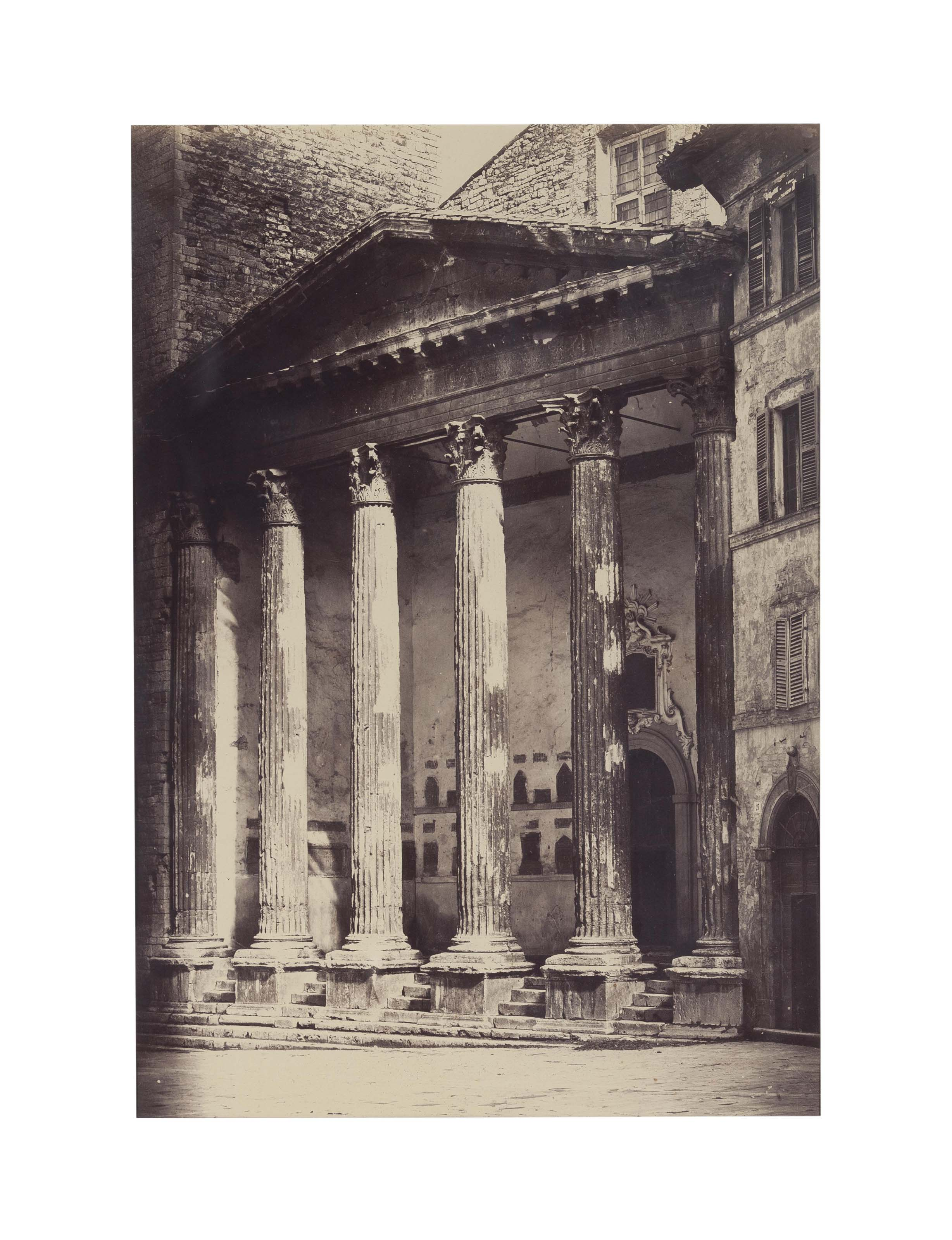 Roman Portico, c. 1860