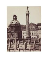 Trajan's Column, Rome, c. 1865