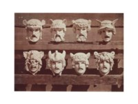 Masks, from Comedie Françoise, c. 1880