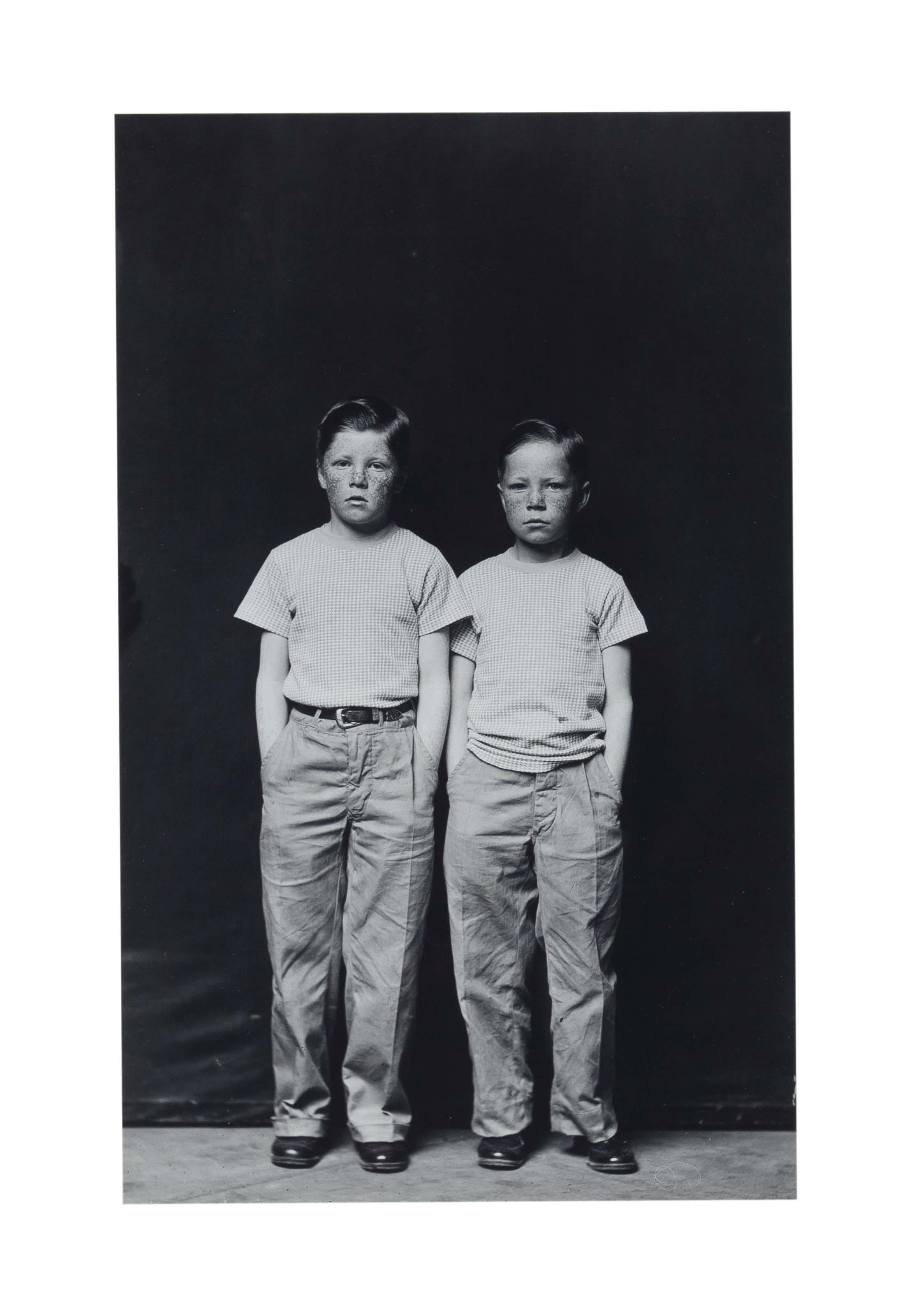 Twin Boys, c. 1940-1945