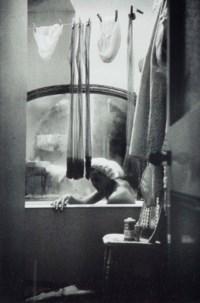 One of four girls sharing a flat in Knightsbridge, London, 1961