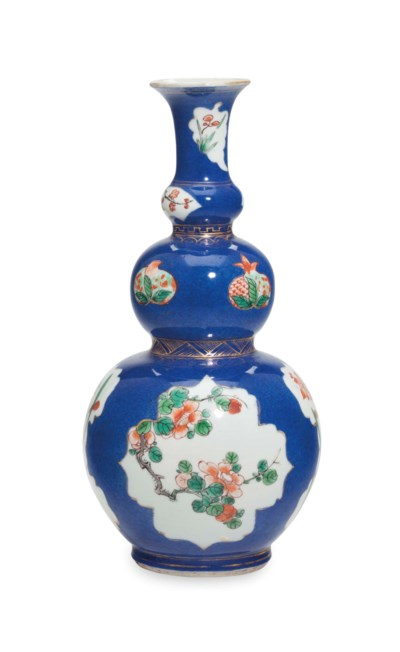 A CHINESE FAMILLE VERTE BLUE G