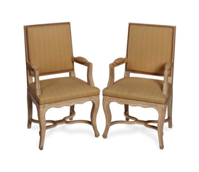 A PAIR OF LOUIS XV STYLE LIMED