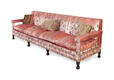 A JACOBEAN STYLE WALNUT AND UP