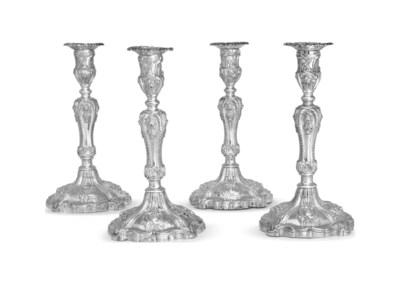 A SET OF FOUR SCOTTISH VICTORI