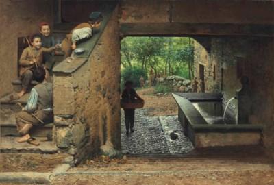 Luigi Monteverde (Swiss, 1843-