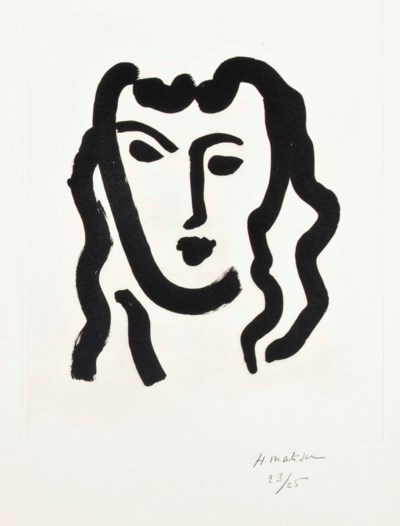 HENRI MATISSE 1869-1954)