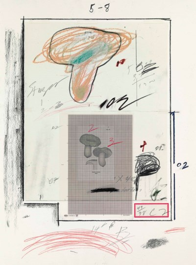 CY TWOMBLY (1928 - 2011)