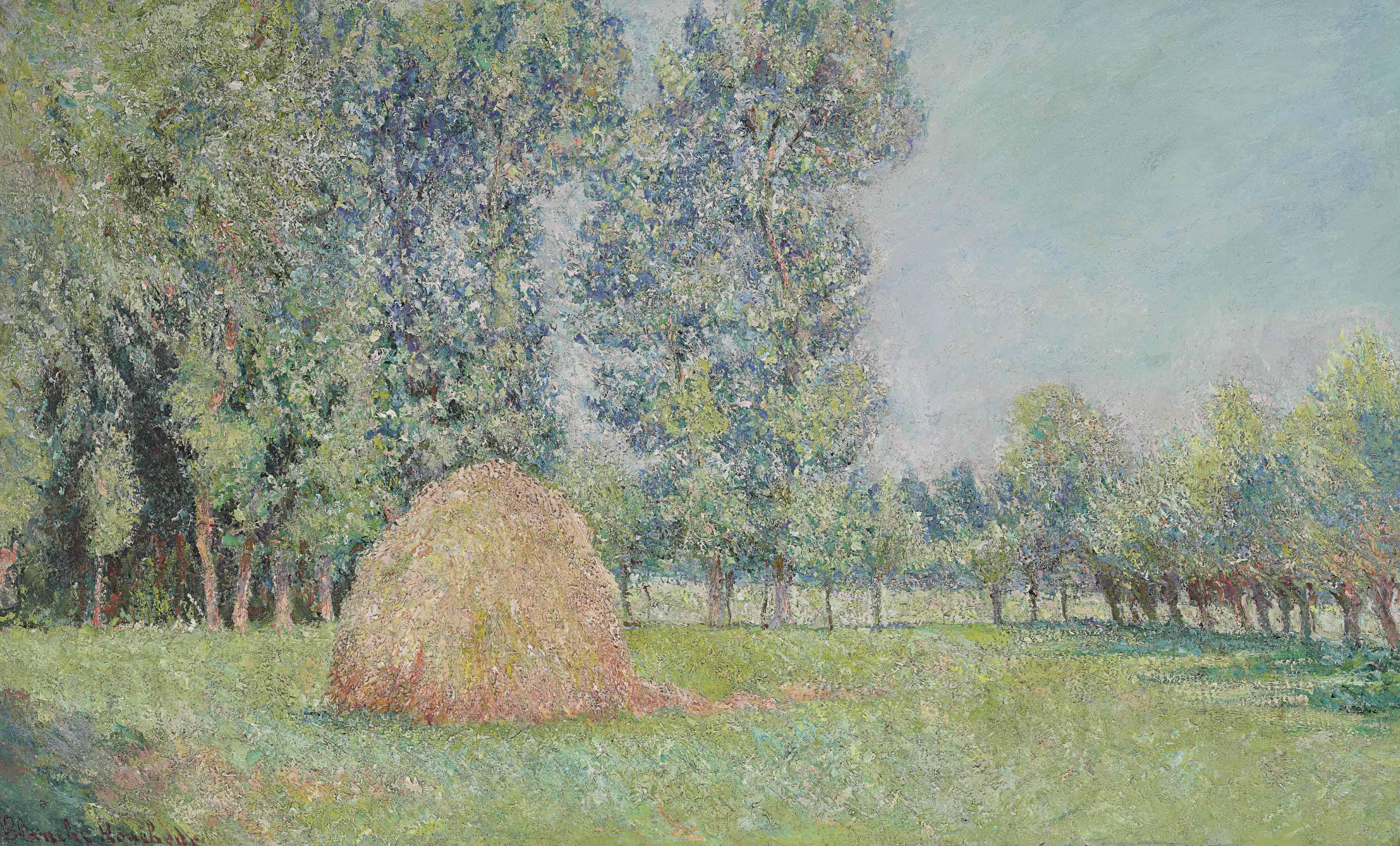 La meule, Plaines des Ajoux, Giverny