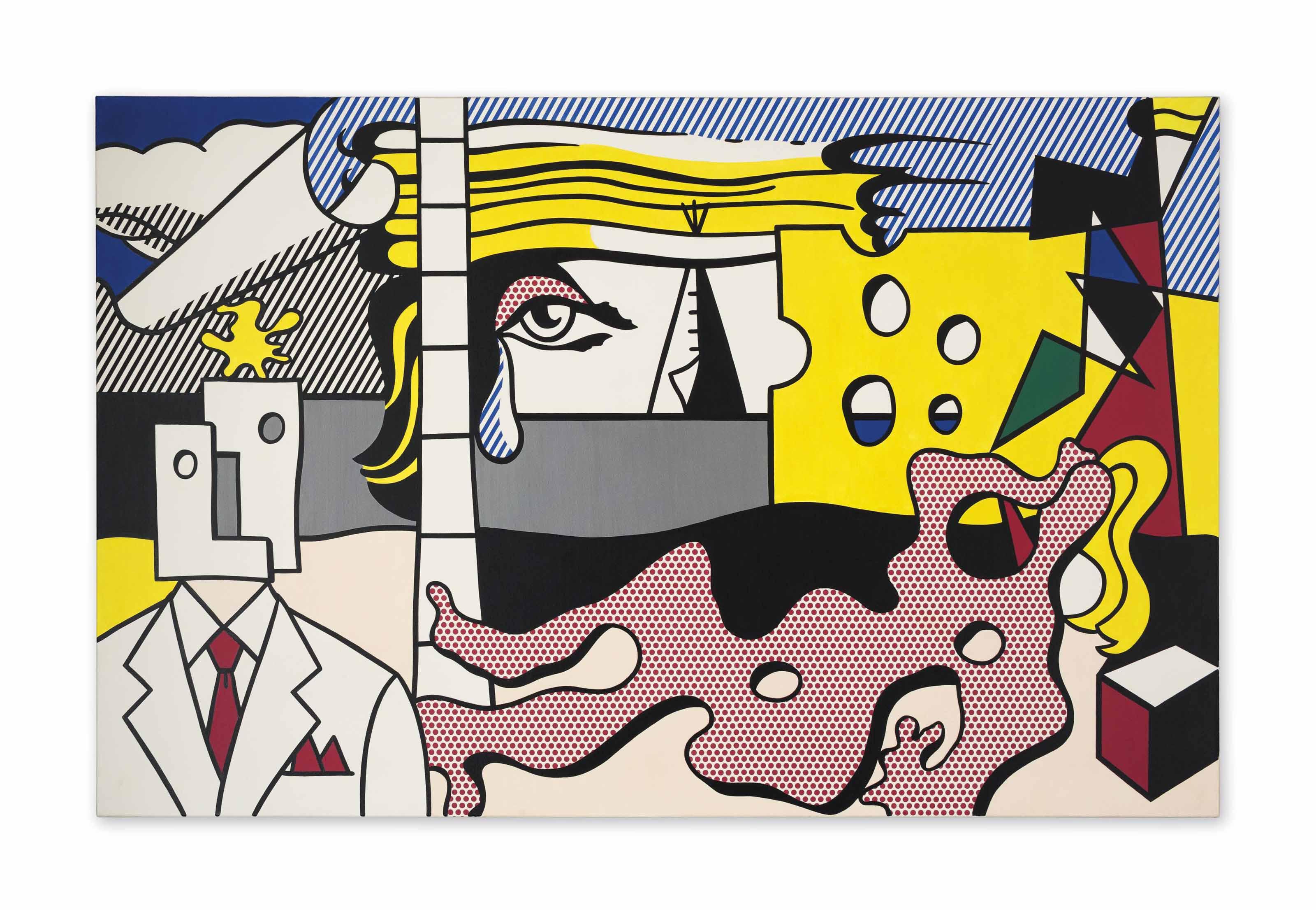 Audio: Roy Lichtenstein, Landscape with Figures