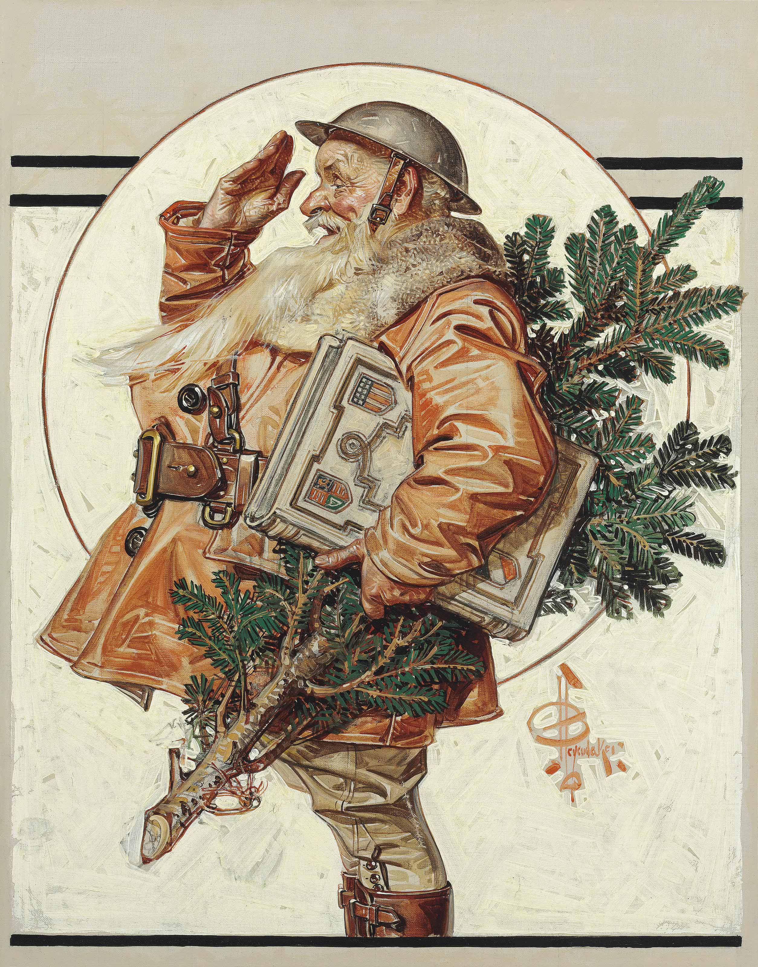 World War I Santa