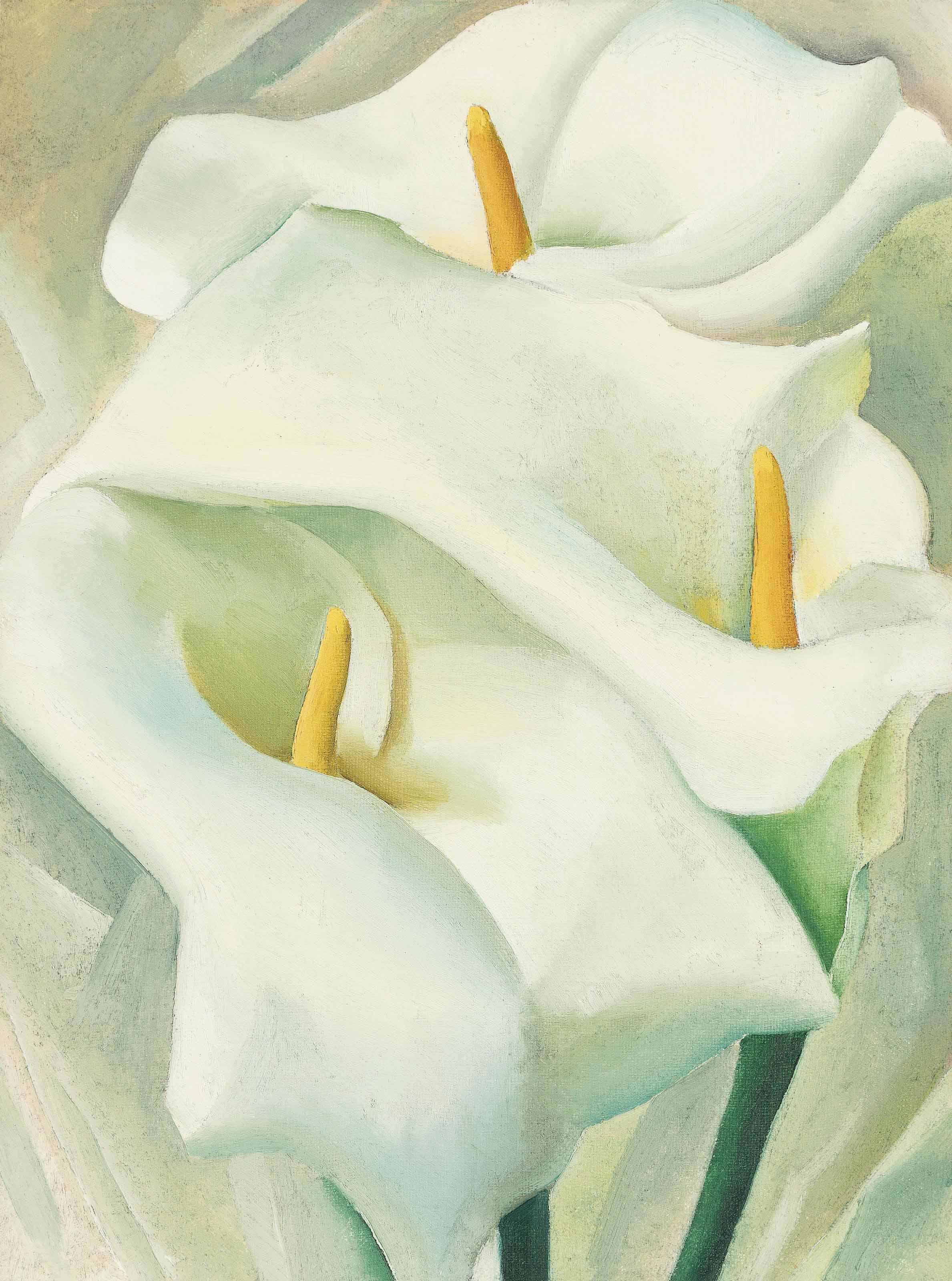 Audio: Georgia O'Keeffe, Calla Lilies