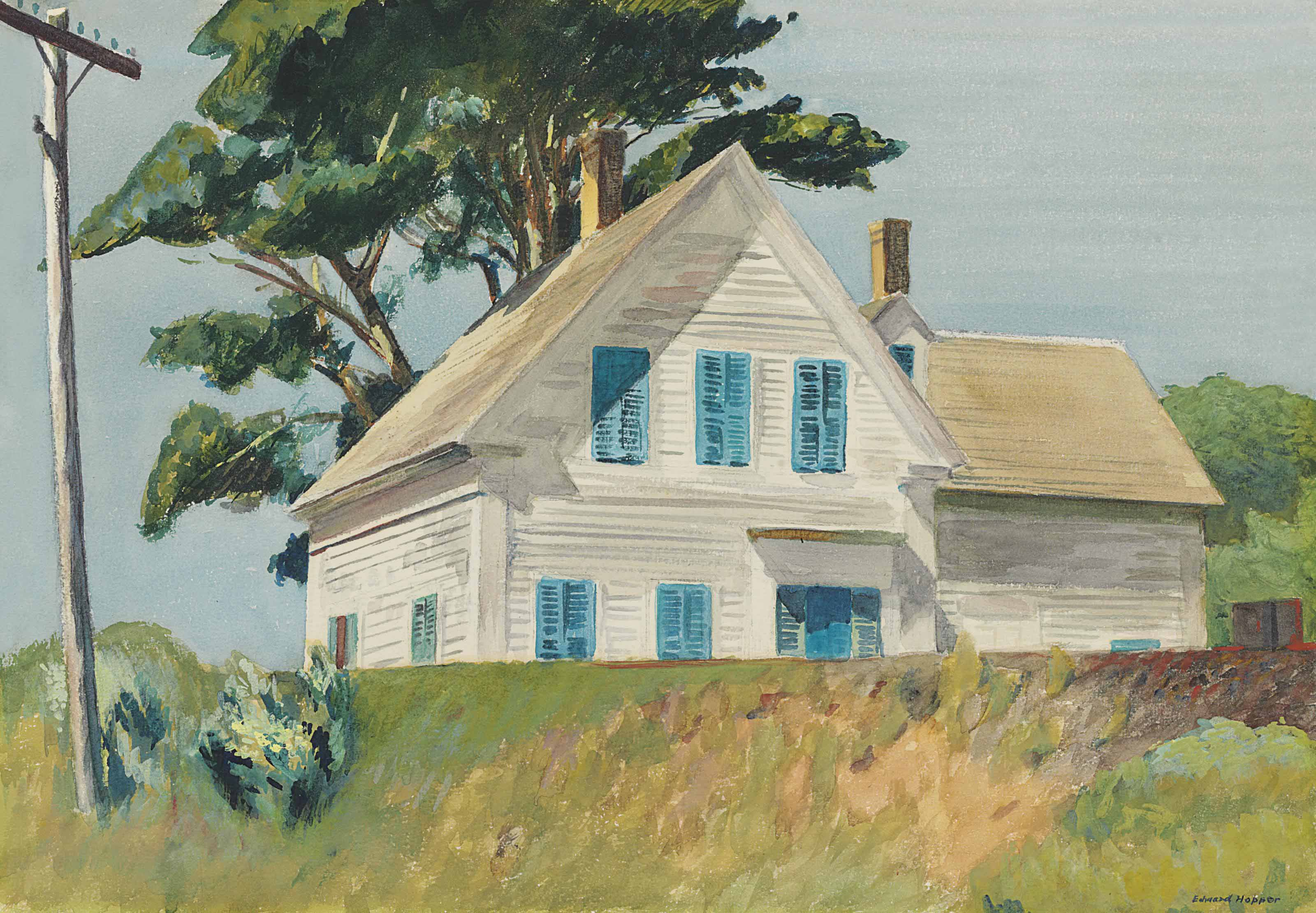 Image result for edward hopper painting his home